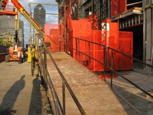 elevator platform ramp 3