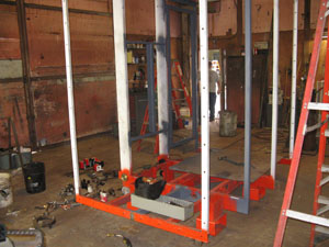 construction hoist refurbishing
