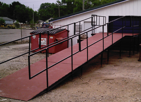 hoist manlift base platform