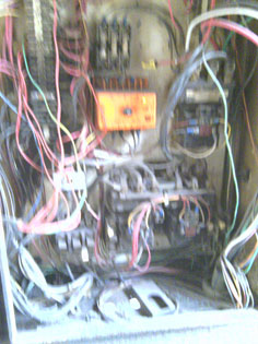 hoist wiring refurbishing before