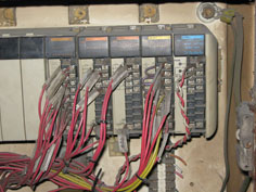 hoist refurbishment wiring before