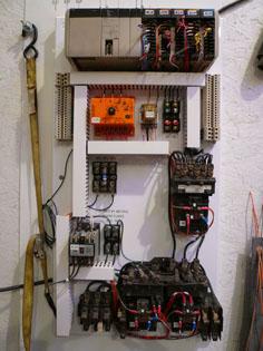 hoist wiring refurbishment after