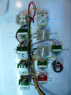 construction hoist rewiring 2