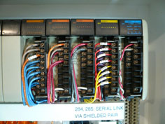 hoist refurbishment wiring after
