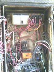 hoist wiring refurbishment before