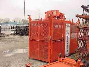 Side Gate Construction Hoist  Modifications