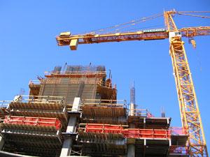 ground mounted tower crane