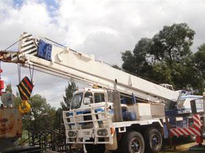 truck mounted cranes
