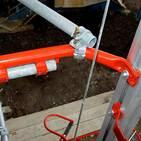 Compact Material Lift Variable Mast
