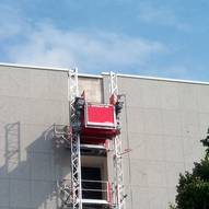 Construction Hoist with One Section