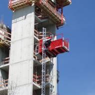Large Platform Construction Hoists