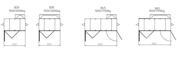 Construction Hoist Platform Parallel Configurations