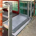 Platform Transport Hoist Landing Gate