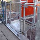 personnel hoist ramp and platform