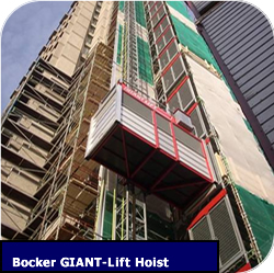 Construction Hoist Bocker Giant