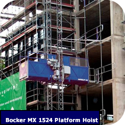 Construction Hoist Bocker MX1524
