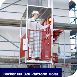 Construction Hoist Bocker MX 320