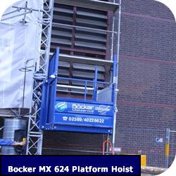 Construction Hoist Bocker MX 624