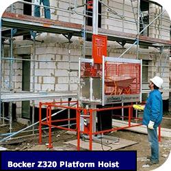 Bocker Material Hoist Z320 Z330