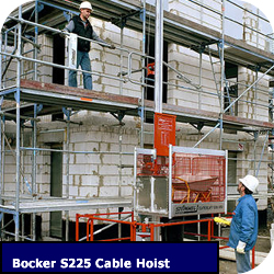 Cable Hoist for Construction