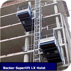 Construction Hoist Bocker Superlift LX