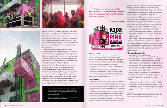 Pink Elevator in World News 2