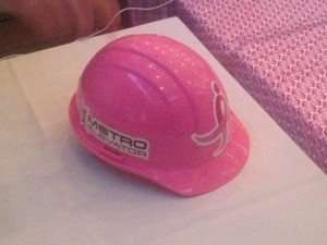 Pink Construction Hard Hat