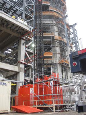 Oil Refinery Industrial Hoist