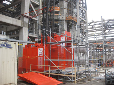 Industrial Hoists for Oil Refineries