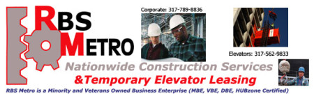 RBS Metro Minority Construction Hoist Leasing